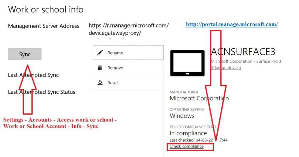 How to Manually Sync Intune Policies ASAP from Enrolled Devices 2