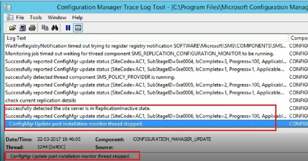 How to Perform SCCM ConfigMgr CB Production upgrade to 1702 Video Tutorial 2