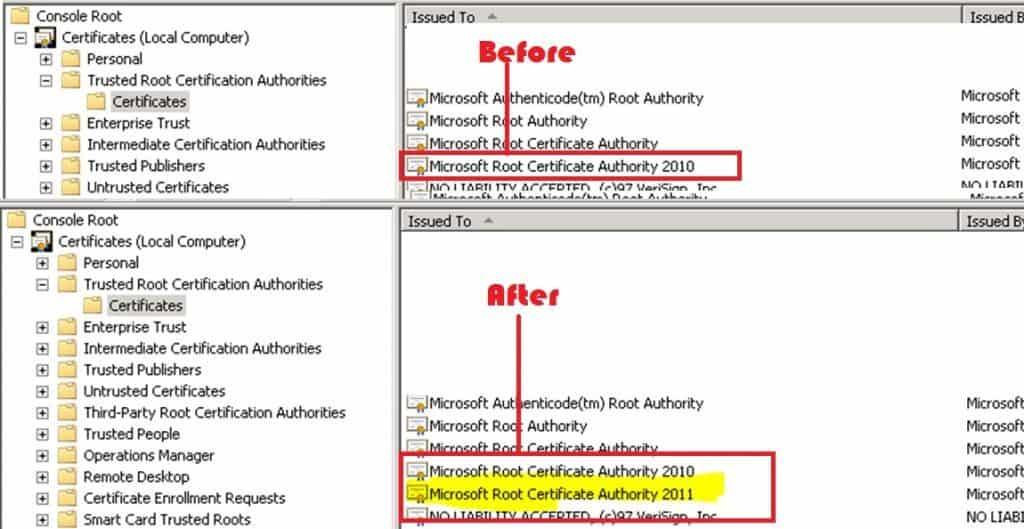 SCCM ConfigMgr Prerequisite Check Error Failed to Verify Authenticode Signature 3