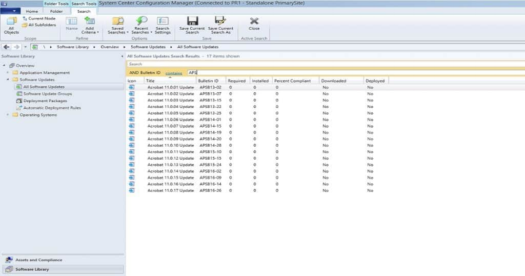 SCCM SCUP Third-Party Application Patching 11