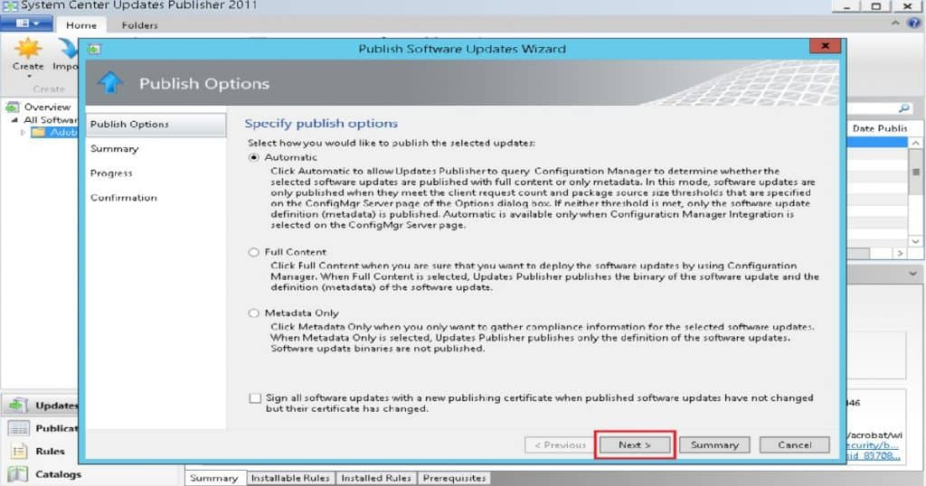 SCCM SCUP Third-Party Application Patching 6