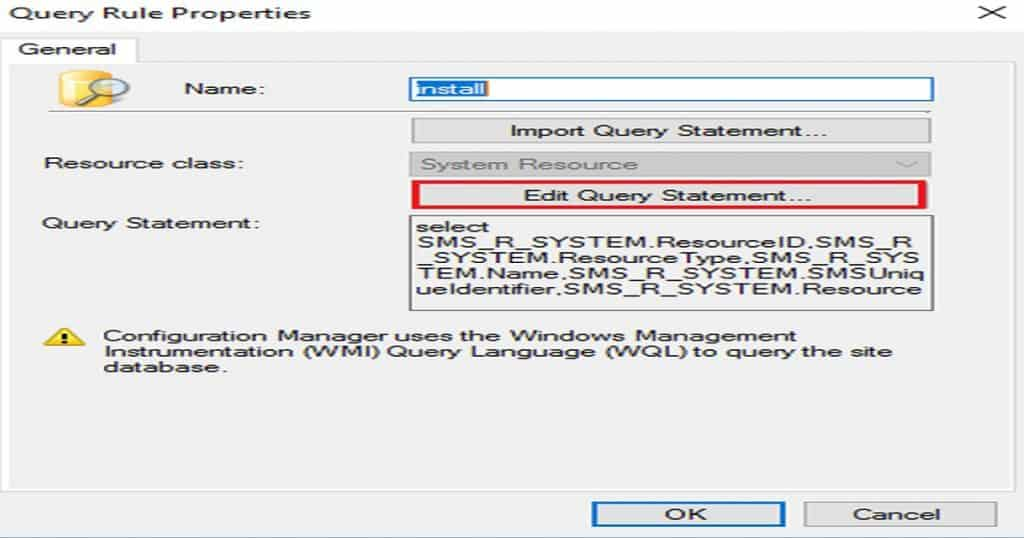 SCCM Dynamic Collection Query Update Known Issue 3
