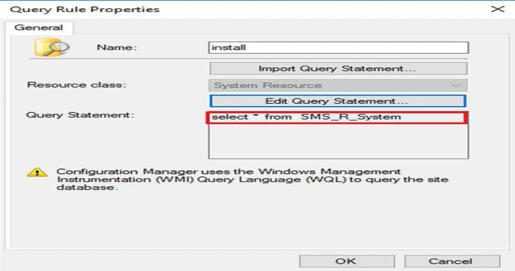 SCCM Dynamic Collection Query Update Known Issue 7