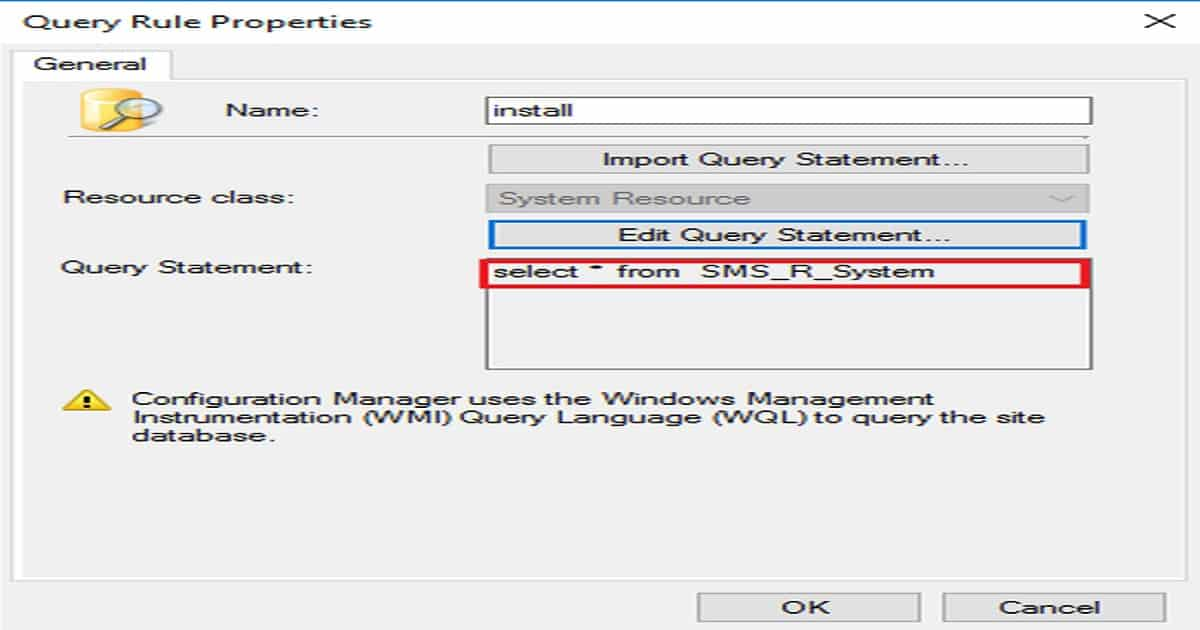 SCCM Dynamic Collection Query Update Known Issue