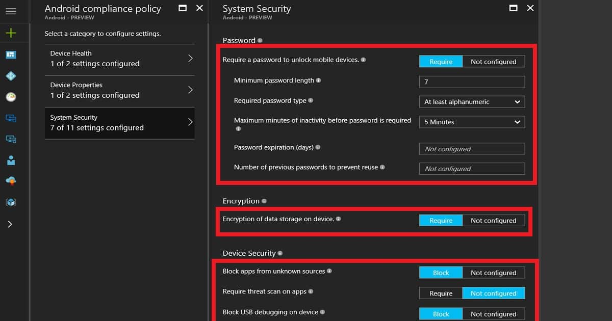 How to Plan and Design Intune Compliance Policy for Android