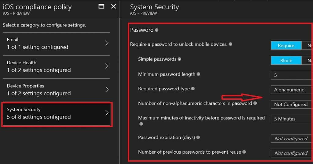 How to Setup Intune Compliance Policy for iOS Devices 3