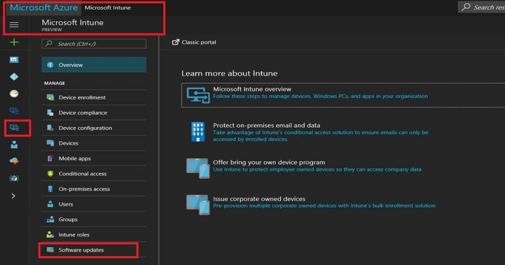 How to Setup Windows 10 Software Update Policy Rings in Intune Endpoint Manager Portal