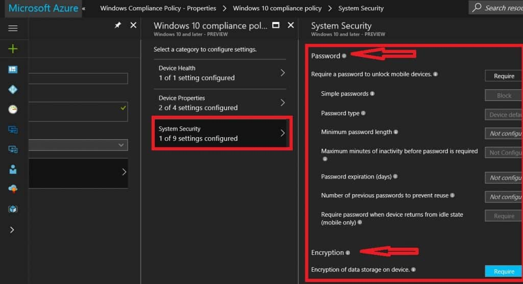 How to Setup Intune Compliance Policy for Windows 10 Devices 4