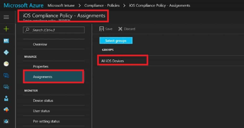 How to Setup Intune Compliance Policy for iOS Devices 4