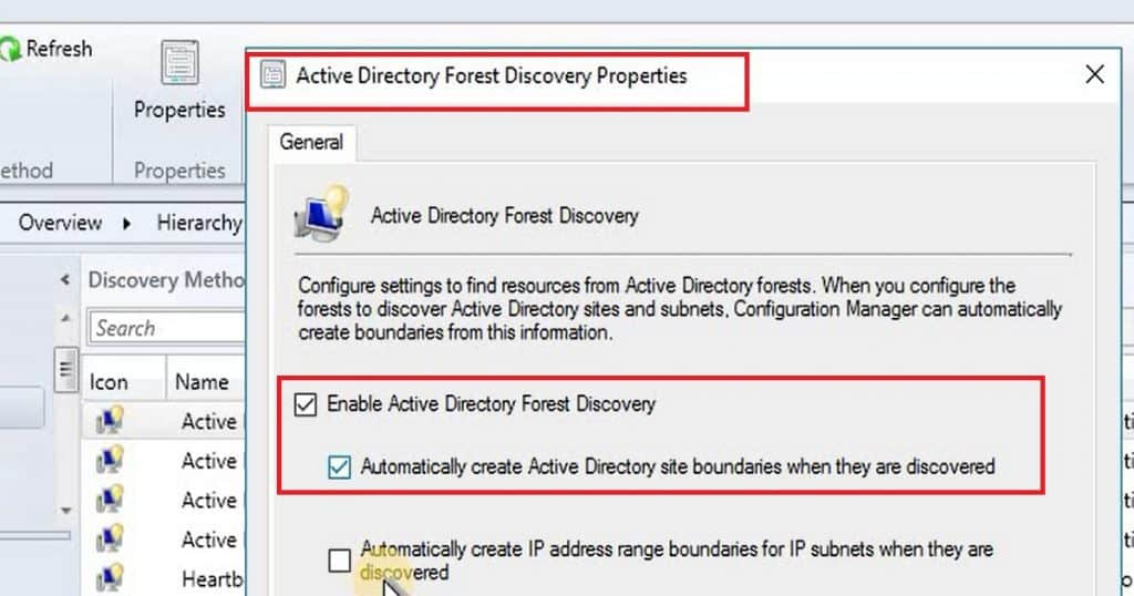 Video Tutorial How to Perform SCCM CB AD Discovery and Install Client 2
