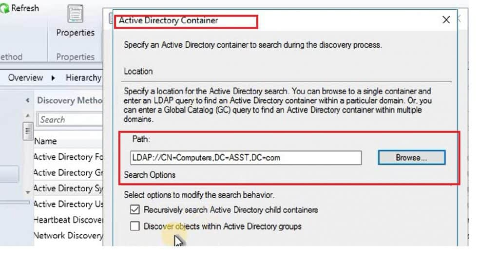 Video Tutorial How to Perform SCCM CB AD Discovery and Install Client 1