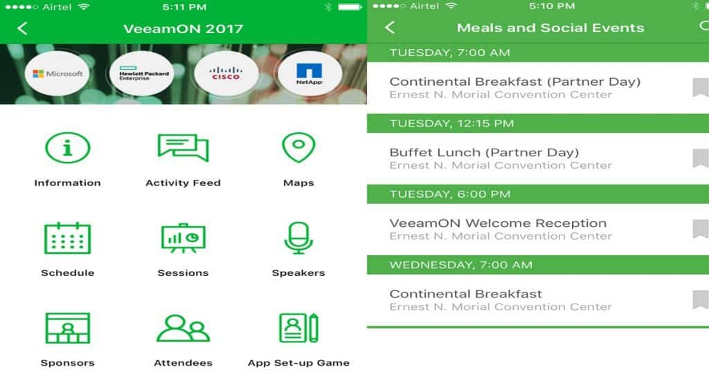 Get Set Ready for VeeamON 2017 with iOS and Android Mobile App 2