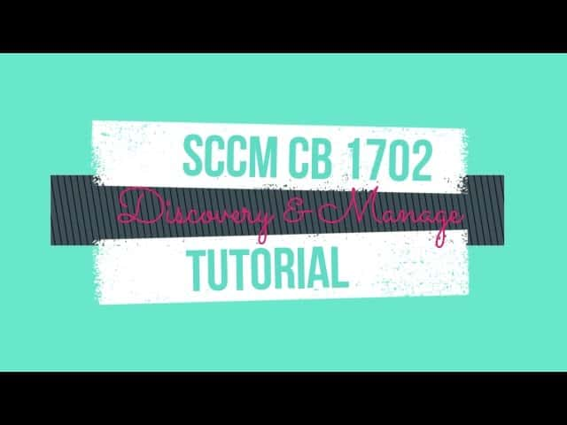 How to Perform SCCM AD Discovery Install SCCM Client 1