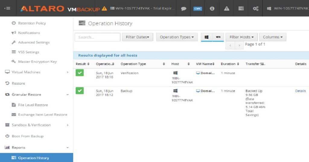 Altaro_Hyper-V_backup_Solution_Reports