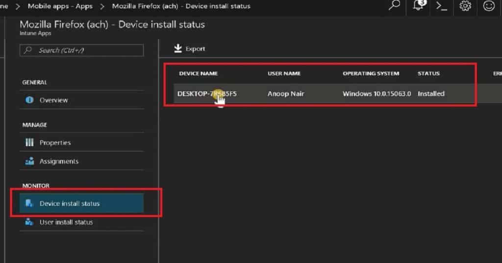Intune LOB application deployment