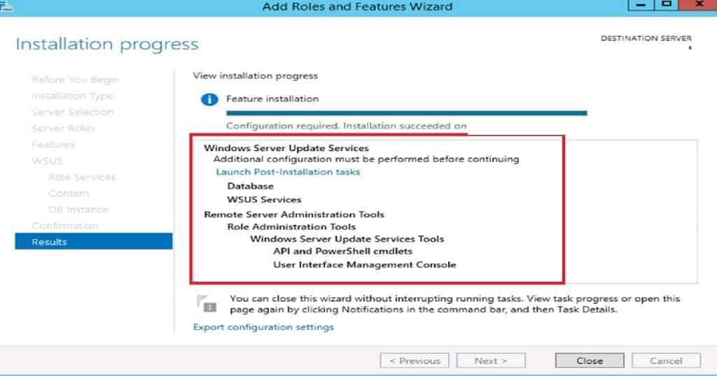SCCM Sever in-place OS Upgrade_WSUS_Service_Install