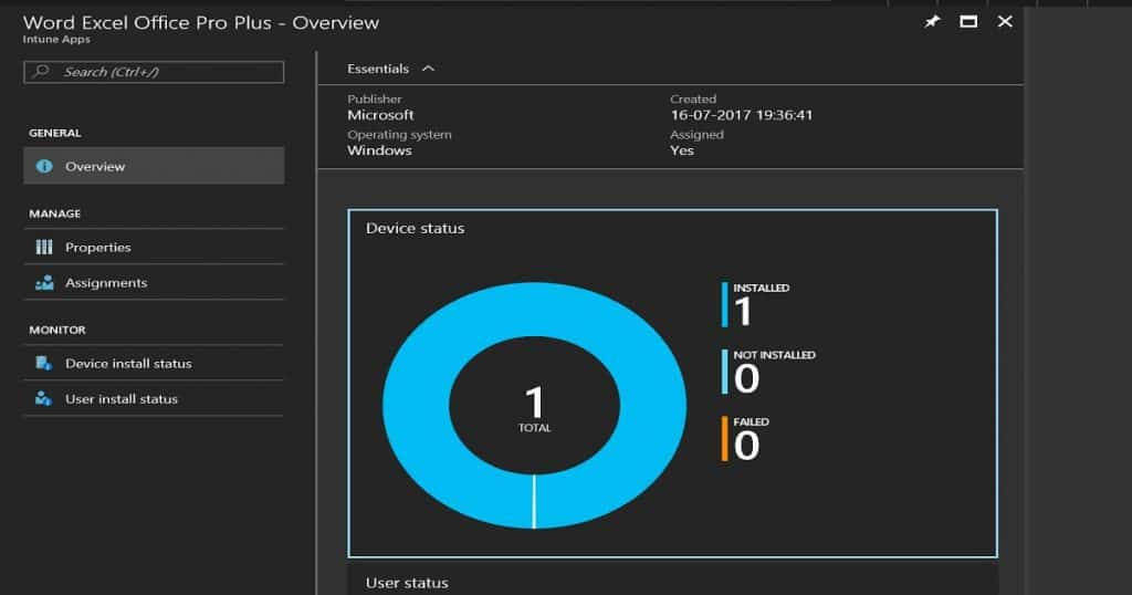 How to Deploy office 365 Pro Plus Suite to Windows 10 via Intune