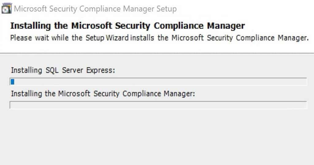 Security Compliance Manager Installation Video