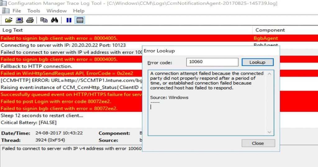 Troubleshoot SCCM CB Fast Channel Notification Issues Troubleshoot SCCM Fast Channel Push Notification Issues Configuration Manager ConfigMgr