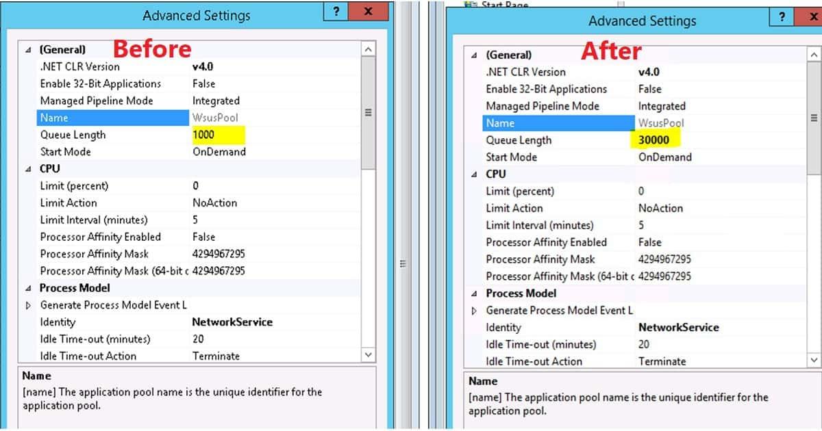 how to delete iis application pool
