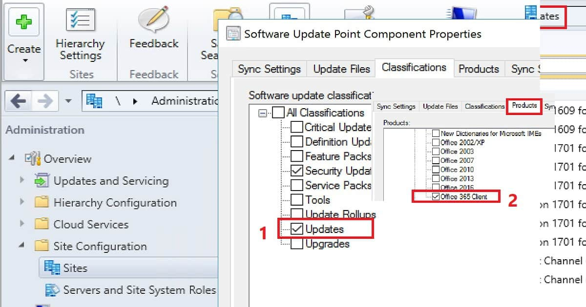 SCCM to Create Deploy Office 365 ProPlus Updates