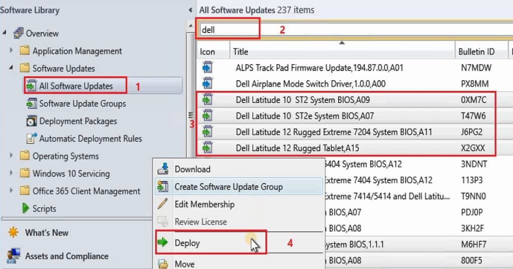 Deploy Dell Bios Firmware Updates Via SCUP and SCCM CB