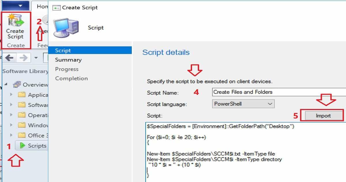 SCCM Run Scripts - Realtime Deployment Options - anoopcnair com