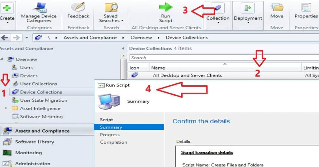 SCCM CB Run PowerShell Script Directly from Collection Configuration Manager ConfigMgr