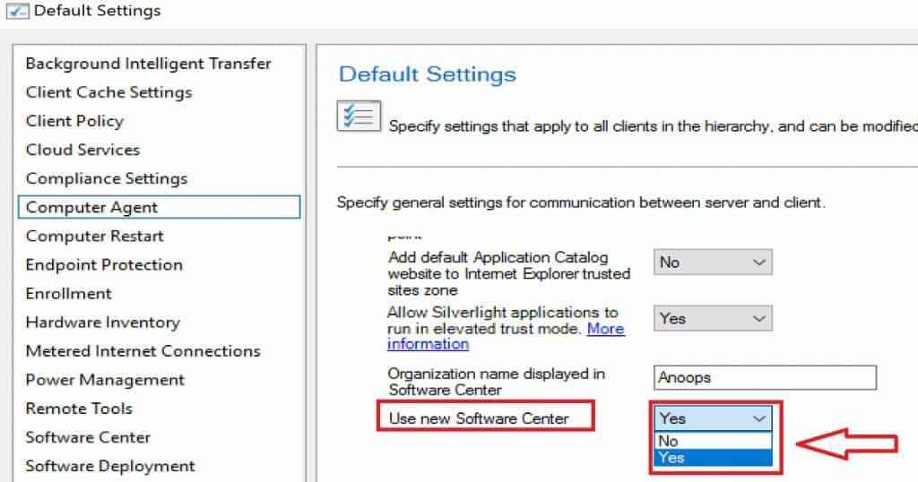 How to Hide Tabs in New Software Center  SCCM CB How to Hide Tabs in New Software Center Customization Configuration Manager ConfigMgr
