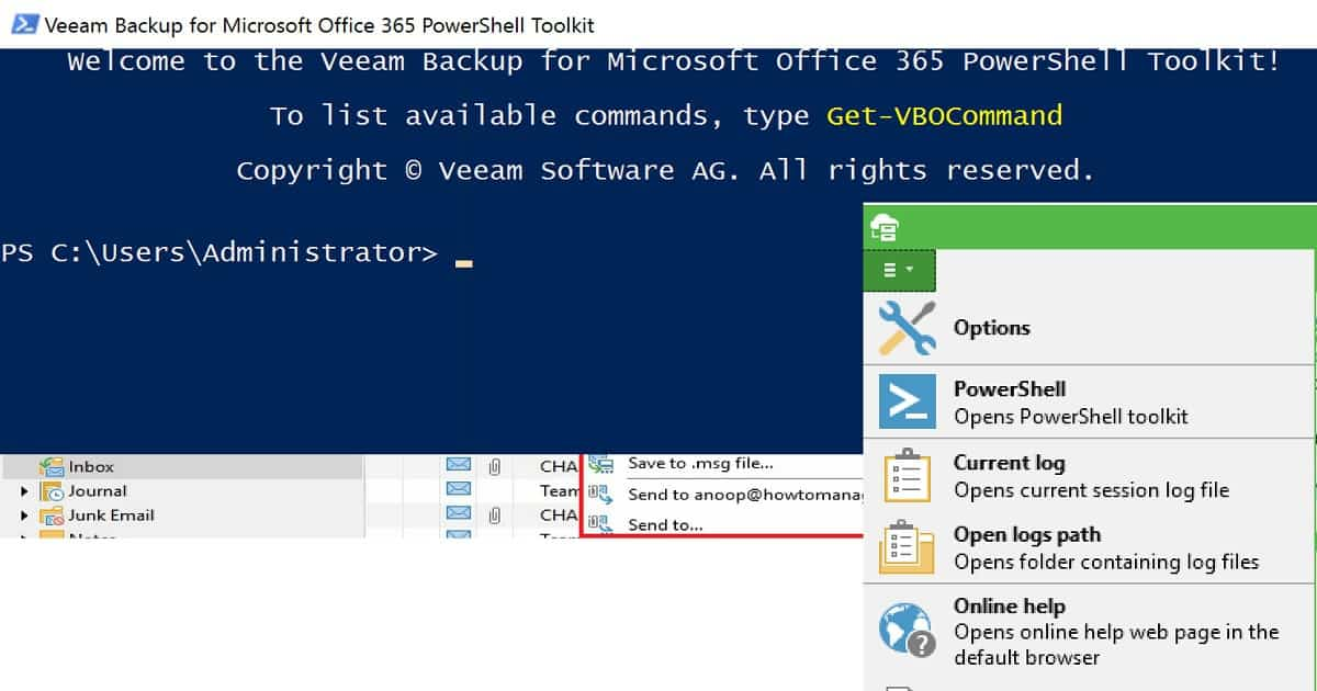 How to Take Backup and Restore Office 365 Mailboxes