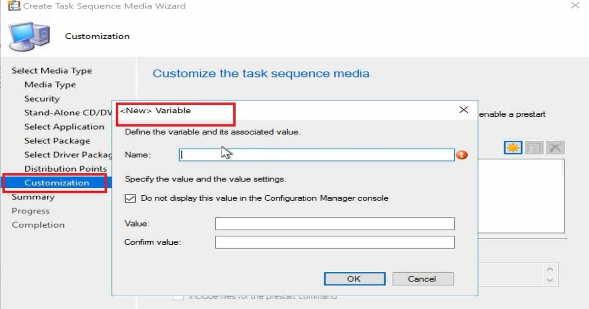 Install Dynamic Applications using SCCM CB Full Standalone Media