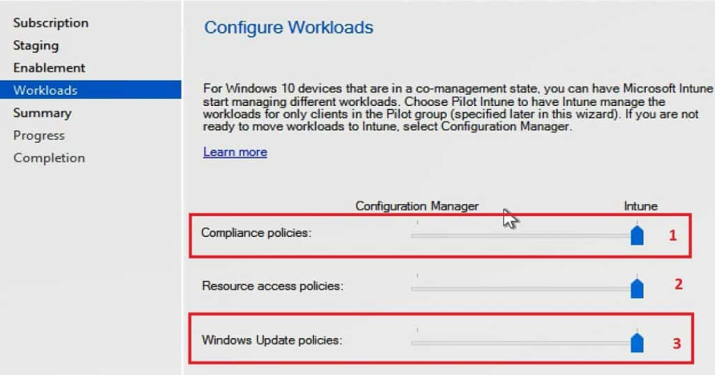 How to Setup SCCM CB and InTune Co-Management