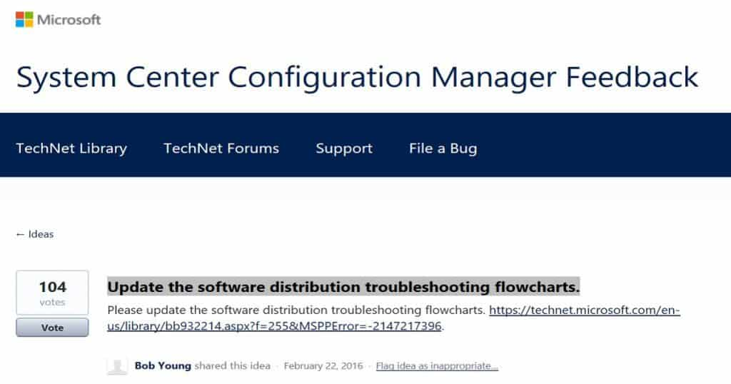 SCCM ConfigMgr Troubleshooting Step for Newbies with Flowcharts