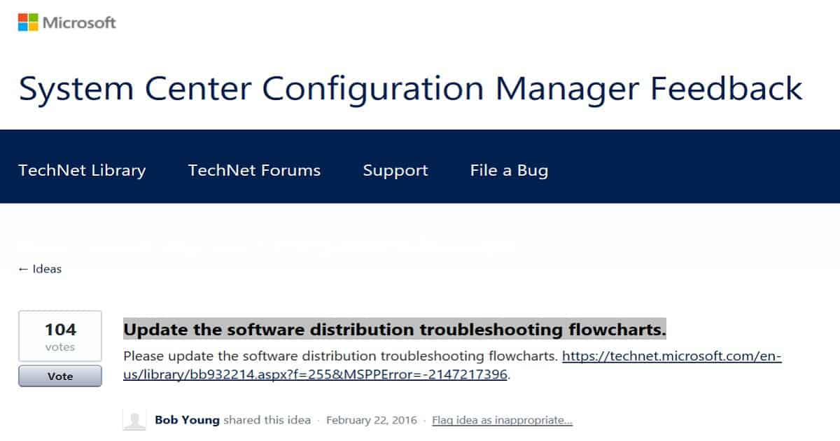 SCCM Troubleshooting Steps with Flowcharts | anoopcnair com