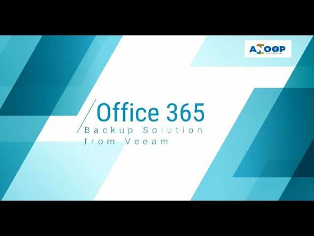 How to Take Backup and Restore Office 365 Mailboxes | Veeam 1