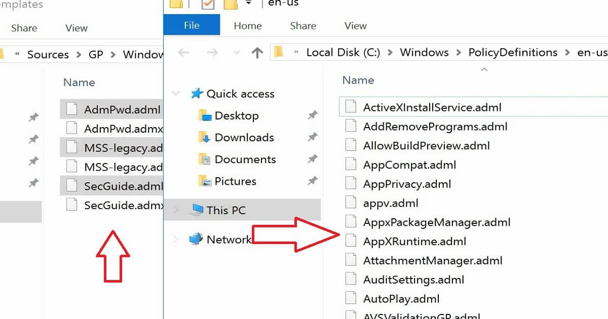 Learn to Configure Group Policy ADMX ADML WMI Filter for Windows 10