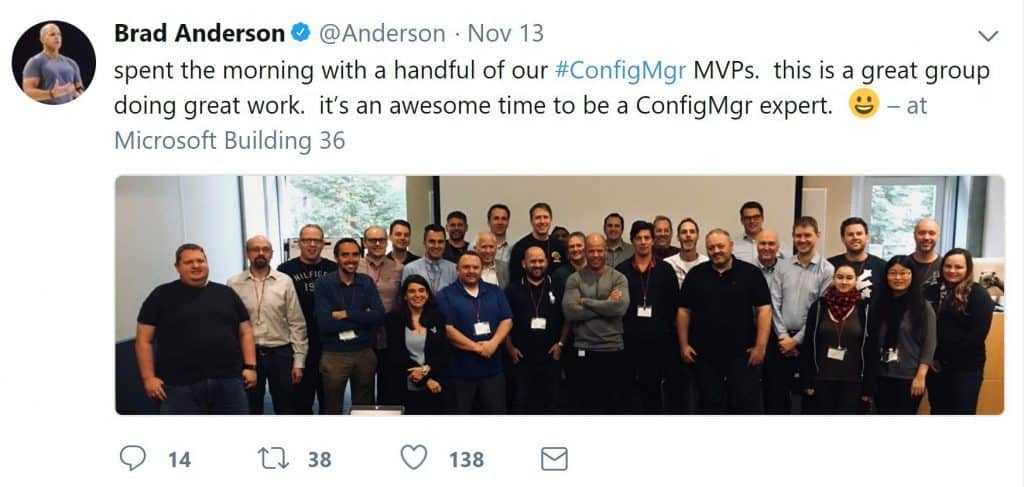 25 Years of ConfigMgr and Special Microsoft MVP Summit - Redmond