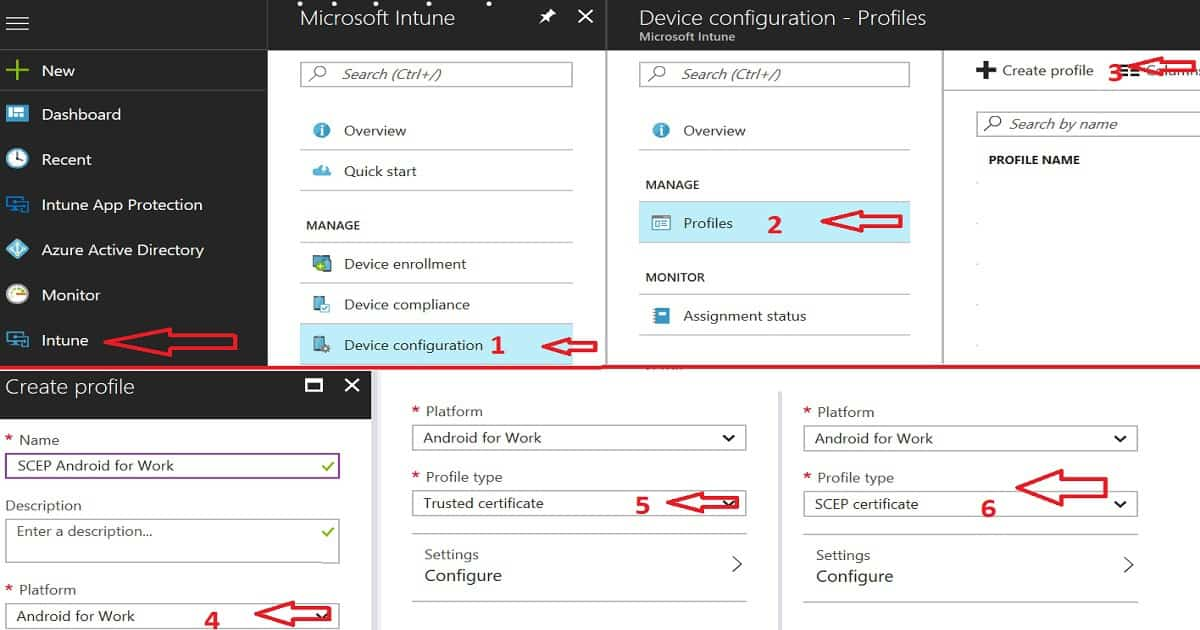 Intune Android Work SCEP Certificate Deployment Issue - anoopcnair.com