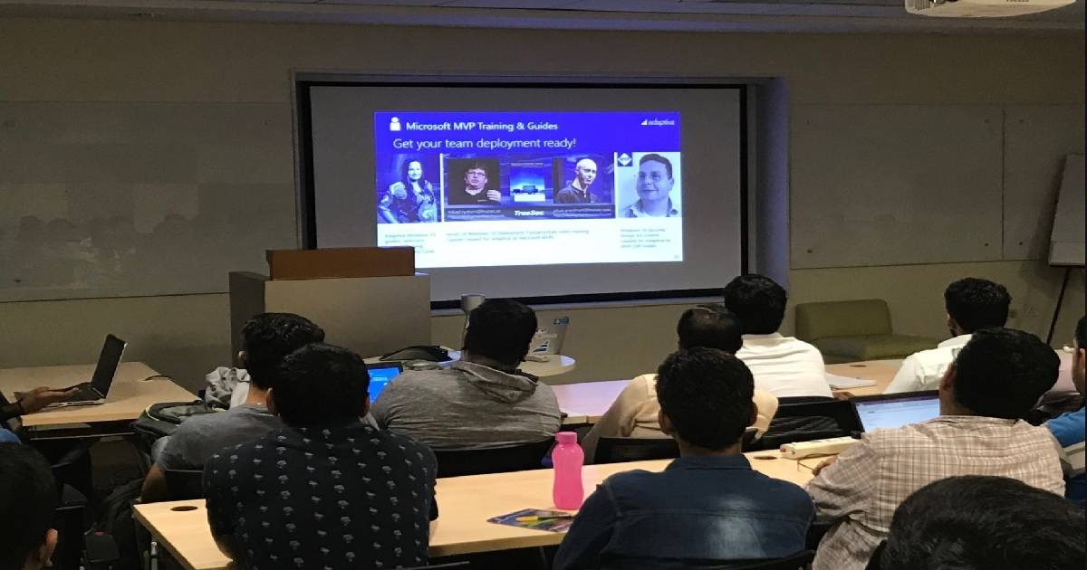 Windows 10 Accelerator Program Session at BITPro Event