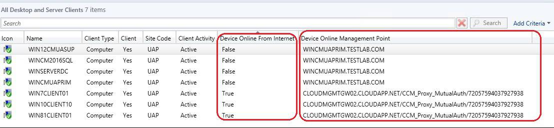 Custom Report to Identify Machines Connected via SCCM CMG 2