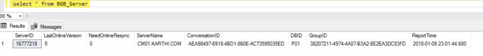 SCCM Client Online Status in SCCM Console