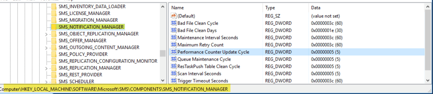 Overview of Client Online Status in SCCM Console