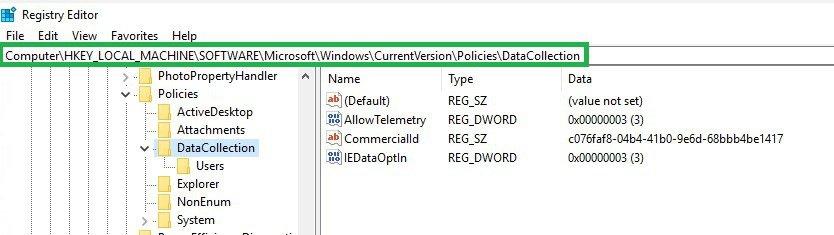 Telemetry Registry