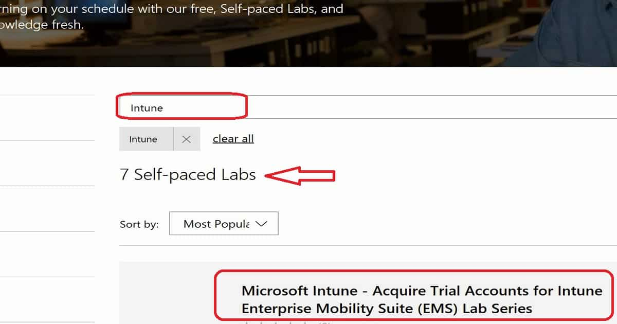 SCCM Intune Windows 10 Hands On Labs Training