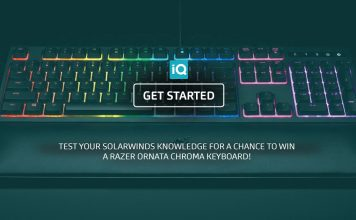 Test your IT knowledge and win a gaming keyboard
