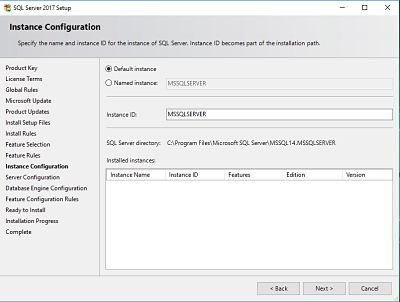The Complete Guide for SCCM Server Migration Part 1 - SQL 2017 6
