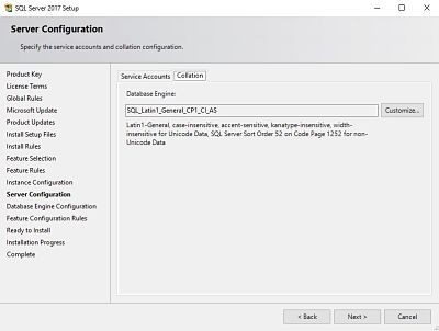 The Complete Guide for SCCM Server Migration Part 1 - SQL 2017 8
