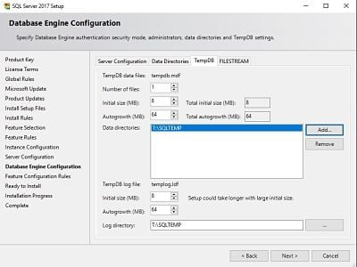 The Complete Guide for SCCM Server Migration Part 1 - SQL 2017 11