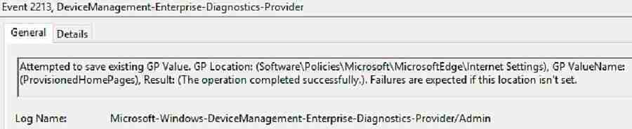 MDM CSP Group Policy