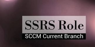 SCCM CB Reporting Services Point